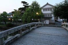 Bikan-chiku area in Kurashiki city #japan #okayama