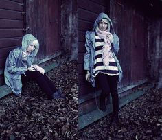 Angela Doe - Topshop Dress, H&M Scarf, Primark Jacket, Zara Boots - Waiting for mr. pan