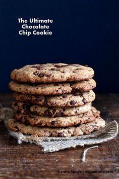 The Ultimate Giant Vegan Chocolate Chip & Chunk Cookies. Recipe - Vegan Richa