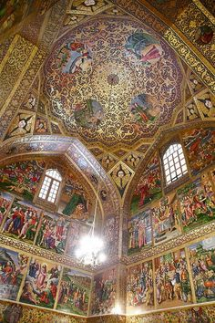 Vank Cathedral is one of the few Armenian churches in Iran to include a dome. Iran: