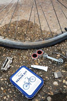 7b7bb23b1d3 Bike Repair Kit Tin. Kikkerland Design Inc