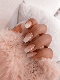 40 Latest Acrylic Nail Designs for Summer 2019 # Acrylic Nail … – Acrylnagel 43 Different Ways to Wear Nude Nails This Year Nude and Marble Nail Art Design Bright Summer Nails, Summer Acrylic Nails, Best Acrylic Nails, White Acrylic Nails With Glitter, Bright Acrylic Nails, White Gel Nails, Classy Acrylic Nails, White Coffin Nails, Classy Nails