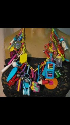 Loved these charm necklaces