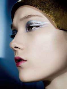 "Yumi Lambert l ""Soft Metallic"" l Kenneth Willardt l Vogue China"