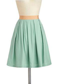 Peaceful Panache Skirt, #ModCloth