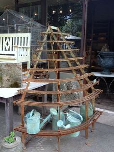 French brocante jardin items  Flea with me Monday 5-21 FleaingFrance