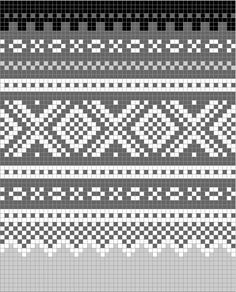 color-pattern for marius sweater Intarsia Patterns, Fair Isle Knitting Patterns, Knitting Stiches, Fair Isle Pattern, Knitting Charts, Lace Knitting, Knitting Socks, Cross Stitch Designs, Cross Stitch Patterns