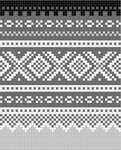 Norwegian pattern: Marius