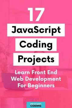 Are you looking for fun JavaScript projects for beginners to practice your coding skills? Use these programming project ideas and tutorials to build your first front end web development projects for your portfolio website and learn the basics of how to plan, manage, and build JS gigs with real-world examples. If you want to start a career in web design, these ideas are great practice for interview questions, too! #javascript #coding #programming #webdevelopment #mikkegoes #tech #learntocode