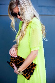 Elle Apparel: CHARTREUSE EASTER DRESS // PUFFED SLEEVE SHIFT DRESS TUTORIAL