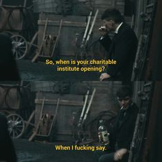 Thomas Shelby is such a savage Peaky Blinders season 3 episode 2 Peaky Blinders Season, Peaky Blinders Series, Peaky Blinders Thomas, Peaky Blinders Quotes, Cillian Murphy Peaky Blinders, Rude Quotes, Film Quotes, Boardwalk Empire, Series Movies
