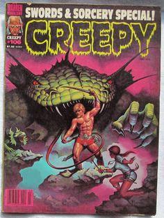 Creepy Magazine #106 F/VF Warren Publishing March 1979 Horror Comics Vintage