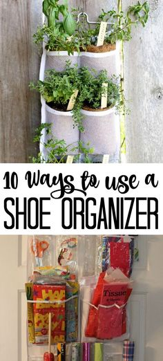 Try these 10 ways to use a shoe organizer. Unique ideas for using the back of your door to organize any small item. Quick Diy Projects For The Home, Diy And Crafts, Crafts For Kids, Diy Storage Pantry, Country Chic Cottage, Edible Crafts, Home Decor Hacks, Toy Rooms, Shoe Organizer