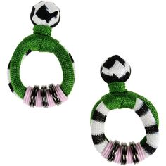 Missoni Earrings Green JahDvEfJY