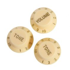 Homeland 2017 1 Volume &2 Tone Electric Guitar Control Knobs For Strat Style Electric Guitar  #Affiliate