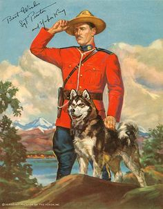 Sergeant Preston of the Yukon radio show episodes, Sergeant Preston of the Yukon TV show episodes, cereal premiums Canadian History, Canadian Art, Canadian Things, Vintage Tv, Vintage Posters, K9 Officer, Old Time Radio, Tv Westerns, Star Show