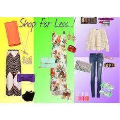 Chic For Less by silvanacasalins81, via Polyvore
