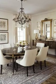 South Shore Decorating Blog 50 Favorites For Friday 106 Neutral Dining RoomsDining Room RugsDining