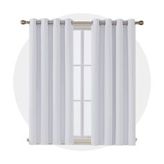 Marlow Home Co. Insulated Curtains, Thermal Curtains, Grommet Curtains, Panel Curtains, Dining Room Curtains, Curtain Room, Nursery Curtains, Grey Blackout Curtains, Bedroom Windows