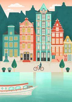 Illustrator Tutorial - Urban City Landscape (Flat Design) Thanks ...