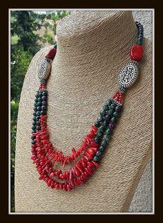 coral coral necklacebroken coral korallenkette stylish