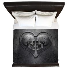 Looking for the ideal Gothic Bed & Bath? Find great designs on Shower Curtains, Beach Towels, Duvet Covers, Pillow Cases & Pillow Shams. King Comforter Sets, Comforter Cover, King Duvet, Soft Duvet Covers, Bedding Sets, Pottery Barn, Gothic Halloween Decorations, House Decorations, Gothic Bed