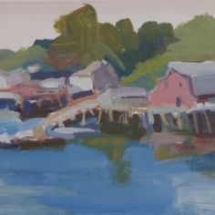 Mackerel Cove by Jillian Herrigel, Dimensions: 9 x 12 in, Price: $275.00