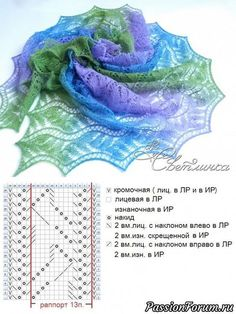 Вязание спицами Poncho Au Crochet, Poncho Knitting Patterns, Shawl Patterns, Knitted Shawls, Knitting Stitches, Knit Crochet, Crochet Summer, Easy Knitting, Knitting Ideas