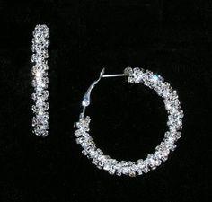 rhinestone earrings| Dreamtime Creations