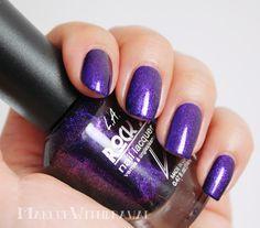 Makeup Withdrawal: Purple Polish Spam.  LA Girl Rockstar Groupie