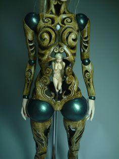 Clay Dolls, Bjd Dolls, New Monster High Dolls, Mannequin Art, Gothic Dolls, Arte Horror, Living Dolls, Creepy Dolls, Doll Repaint