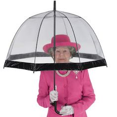 Her Majesty's Umbrella is super handy and used by Her Majesty! www.MyWonderList.com