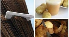 O remédio de casca de batata fortalece o cabelo e nutre os fios. Dado que ela tende a escurecê-lo, e...