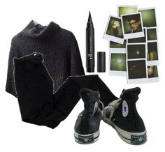 """Untitled #922"" by kandykuahgoddess ❤ liked on Polyvore featuring Brunello Cucinelli and Converse"