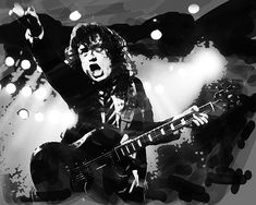 All The Young Dudes, Angus Young, Young Ones, My Rock, Ac Dc, Rollers, Cool Bands, Rock N Roll, Portraits