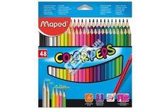Pastelky trojhranné MAPED 48 barev ColorPeps