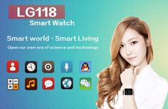 FREIGHT FREE - 2015 New LG118 Bluetooth Smart Watch WristWatch Support Camera For All Android Smart Moblie Phone - thousands of products found here http://electronics.peaklifelink.com/