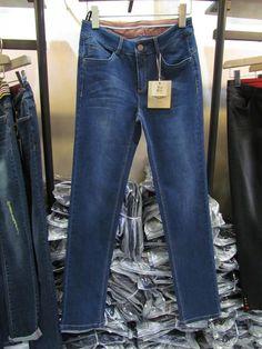 MA151018专柜正品女裤2015秋装新款时尚紧身裤中直筒牛仔裤休闲裤-淘宝网