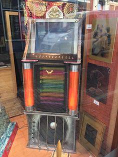 Rockets Game, Jukebox, Castles, Steampunk, Fantasy, Painting, Art, Dioramas, Painting Art