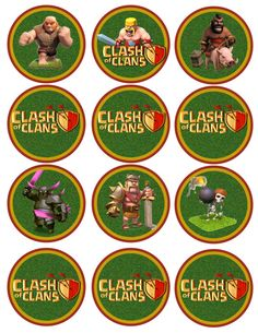0766e6e5c7f3a7b4e971285bfac63240 clash of clans birthday paintball party