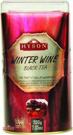 Hyson Schwarzer Tee Winter Wein 200g. (5€ pro 100g)