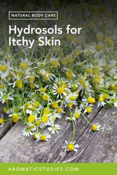 Hydrosols for Itchy Skin