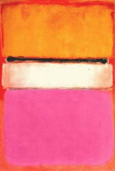 Most people think this is ridiculous, but Rothko is one of my favorites