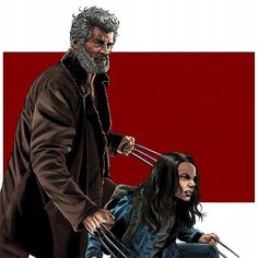Wolverine and X-23 Logan and Laura