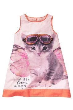 Buy Cat A-Line Dress (3mths–6yrs) from the Next UK online shop
