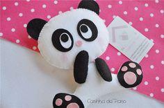 Felt panda  #panda #felt #DIY
