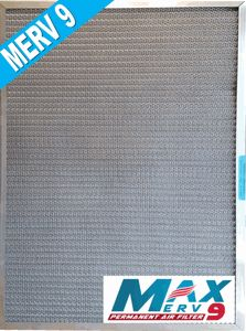 24x30x1 Electrostatic Washable Permanent A//C Furnace Air Filter Reusable GOLD FRAME