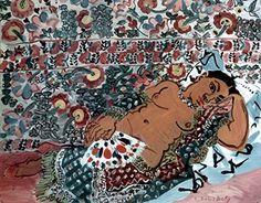 Indian Woman : Raoul Dufy : circa 1928 : Fine Art Giclee Print Archival Reprint Company
