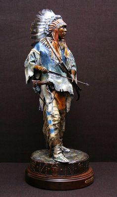 A Sioux War Chief...by David Lemon