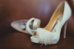 feather badgley mischka bridal shoes / Koru Wedding Style: {Glamorous San Francisco Wedding} Anahita & Mehndi